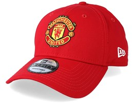 Manchester United Basic Scarlet 940 Adjustable - New Era
