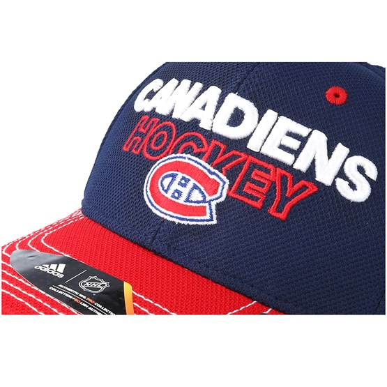 online store 36c2d 3d66d Montreal Canadiens Locker Room Structured Navy Flexfit - Adidas cap -  Hatstore.co.in
