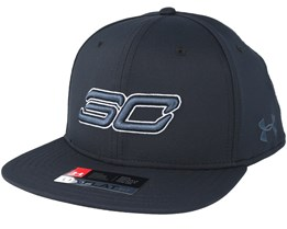 Sc30 Core Black Snapback - Under Armour