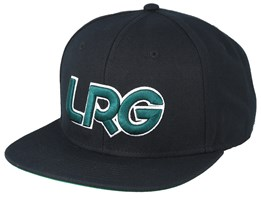 LRG Interception Black/Onyx Snapback - LRG