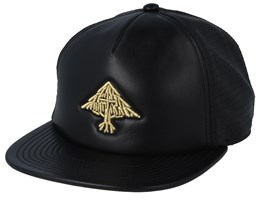 Flourish Black/Gold Snapback - LRG