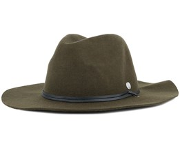 The Lee Olive Trilby - Coal