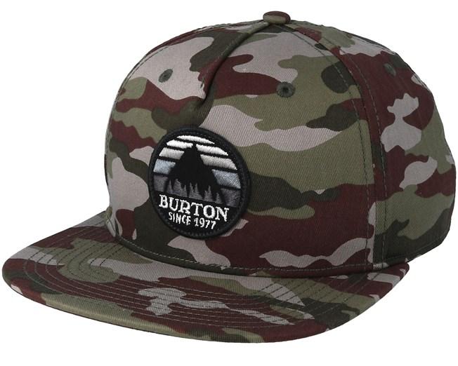 d20112e1118db Underhill Camo Snapback - Burton - Start Gorra - Hatstore