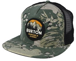 Marble Head Brush Camo  Trucker - Burton