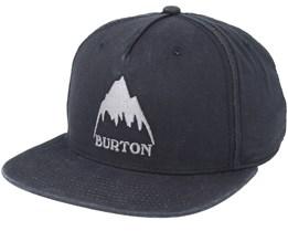 Roustabout True Black Snapback - Burton