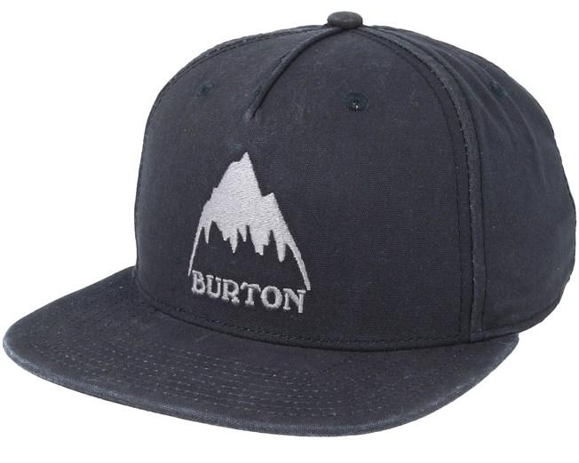 1637d876a7ed33 Roustabout True Black Snapback - Burton caps - Hatstoreworld.com