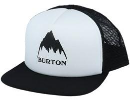 Trkr Sout White/Black Trucker - Burton