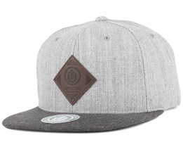 Offspring Light Grey/Dark Grey Snapback - Upfront