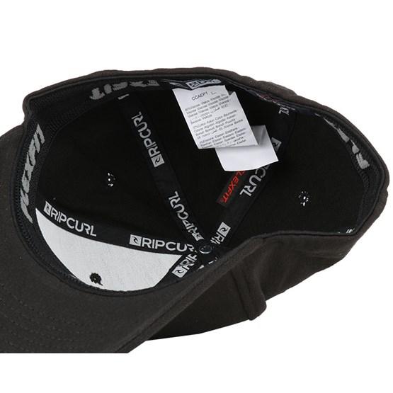 a5bed09472a7b Tepin Curve Peak Black Adjustable - Rip Curl - Start Boné - Hatstore