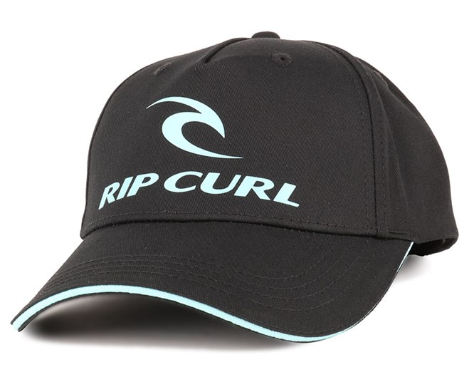 Kids Corporate Black Adjustable - Rip Curl caps  d6b1f5595c77