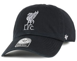 Liverpool FC Liverbird Clean Up Black Adjustable - 47 Brand