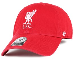 897d6ae05de Liverpool FC Liverbird Clean Up Red Adjustable - 47 Brand