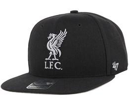 Liverpool FC No Shot Captain Black Snapback - 47 Brand