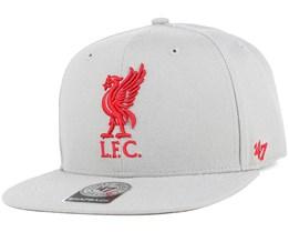 Liverpool FC No Shot Captain Grey Snapback - 47 Brand