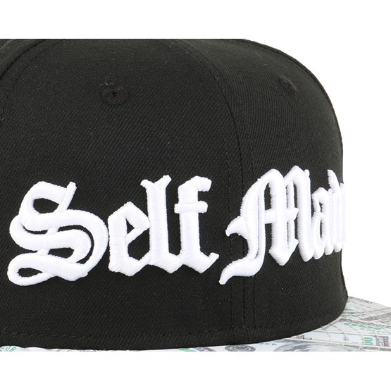 Self Made Abition Black Snapback - Famous S S caps  a3aa8124643