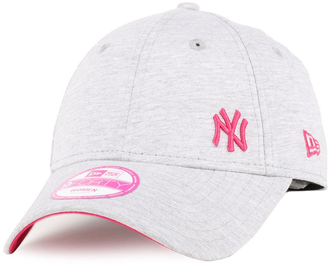 NY Yankees Flawless Fleck Woman Graphite Bright Red 940 - New Era ... 43301e91ae