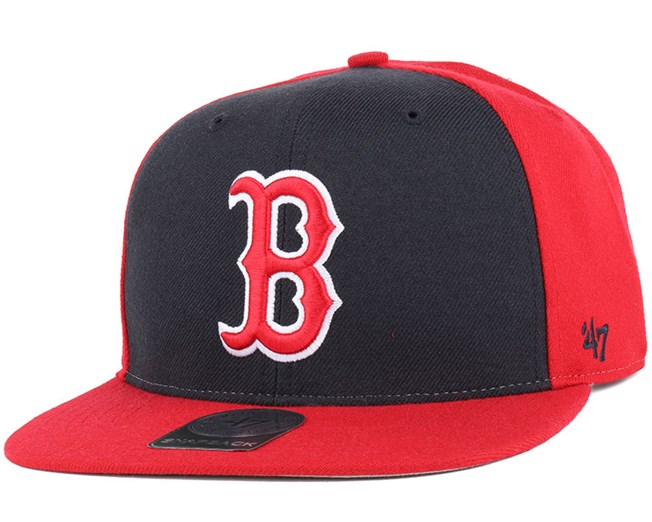 9ebf6a6b4 Boston Red Sox Sure Shot Accent Red Snapback - 47 Brand caps ...