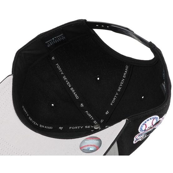 c11e221c095 Chicago White Sox Sure Shot Accent Black Snapback - 47 Brand caps ...