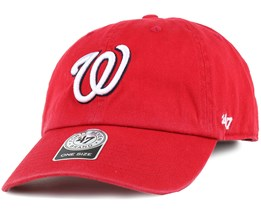 Washington Nationals Clean Up Red Adjustable - 47 Brand