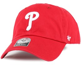 Philadelphia Phillies Clean Up Red Adjustable - 47 Brand