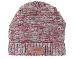 Double up Pewter Grey Beanie - Rip Curl