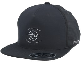 Function Patch 110 Black Snapback - Rip Curl