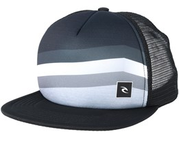4606b303c6d React Black Trucker - Rip Curl