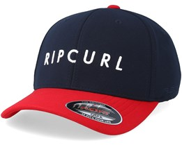 Undertown Italic Navy/Bright Red Adjustable - Rip Curl