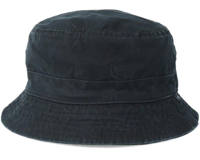 744471bb82b Plain Black Bucket - Rip Curl hat - Hatstore.co.in