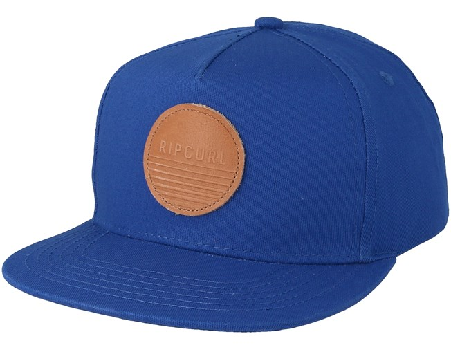 bbc38ca9ce4 Kids Basic Badge Flat Peak Vallarta Blue Snapback - Rip Curl caps -  Hatstoreaustralia.com