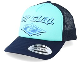 Kids Back to the Basic Boy Mint Trucker - Rip Curl