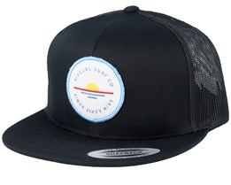 On Da Spot Black Trucker - Rip Curl