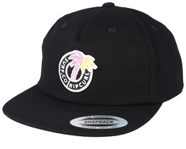 Tropic Topic Black Snapback - Rip Curl