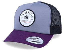 Epic Grey/Purple/Black Trucker - Rip Curl
