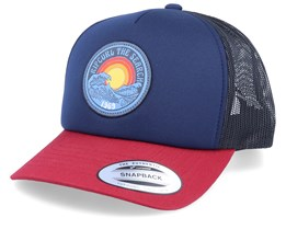 Epic Navy/Red/Black Trucker - Rip Curl