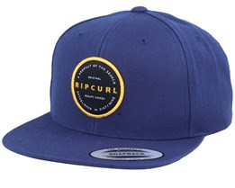 Mission Badge Navy Snapback - Rip Curl