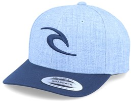 Kids Tepan Light Blue/Navy Adjustable - Rip Curl