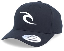 Tepan Curved Black/White Adjustable - Rip Curl