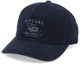 Goodtimes Dad Cap Black/Grey Adjustable - Rip Curl