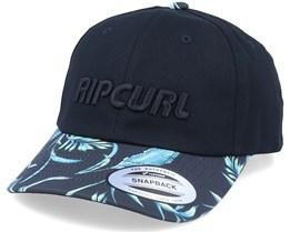 Yo Mama Dad Cap Black/Multi Adjustable - Rip Curl