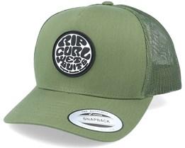 Original Wetty Cap Dark Olive Trucker - Rip Curl