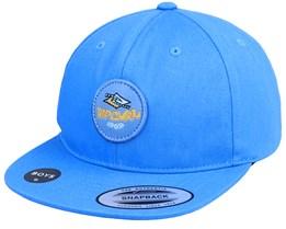 Kids Check Sb Cap Mid Blue Snapback - Rip Curl