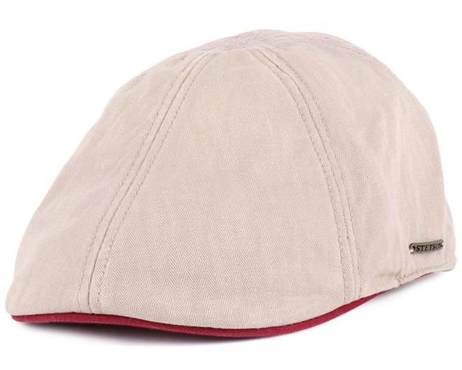 ae97823e4d318 Texas Cotton Khaki Flat Cap - Stetson caps