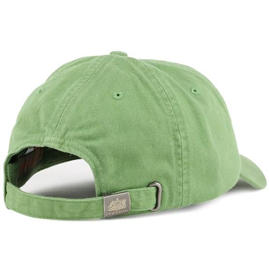 43dab059458d9 Rector Cotton Green Adjustable - Stetson caps