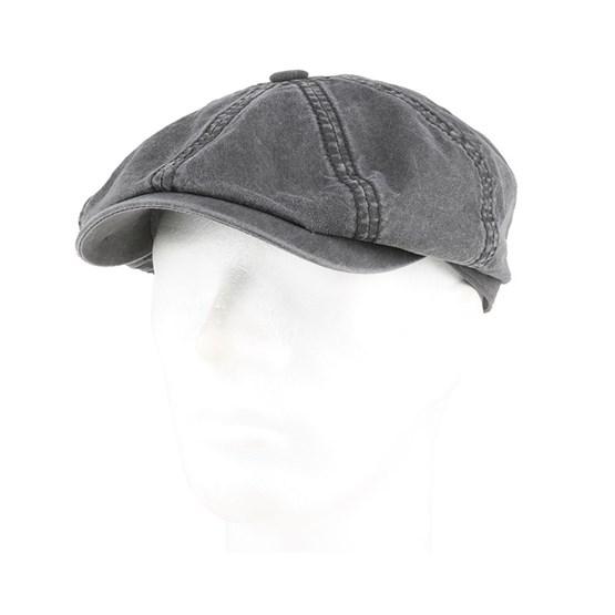 4a78ad2c Hatteras Delave Organic Cotton Grey Flat Cap - Stetson caps | Hatstore.co.uk