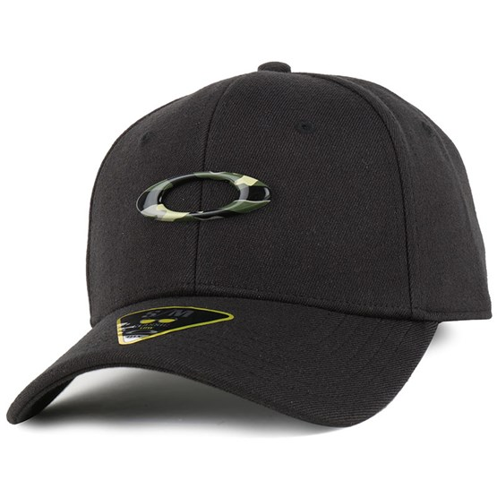 Tincan Black Graphic Camo Flexfit - Oakley caps  df440e7c568c
