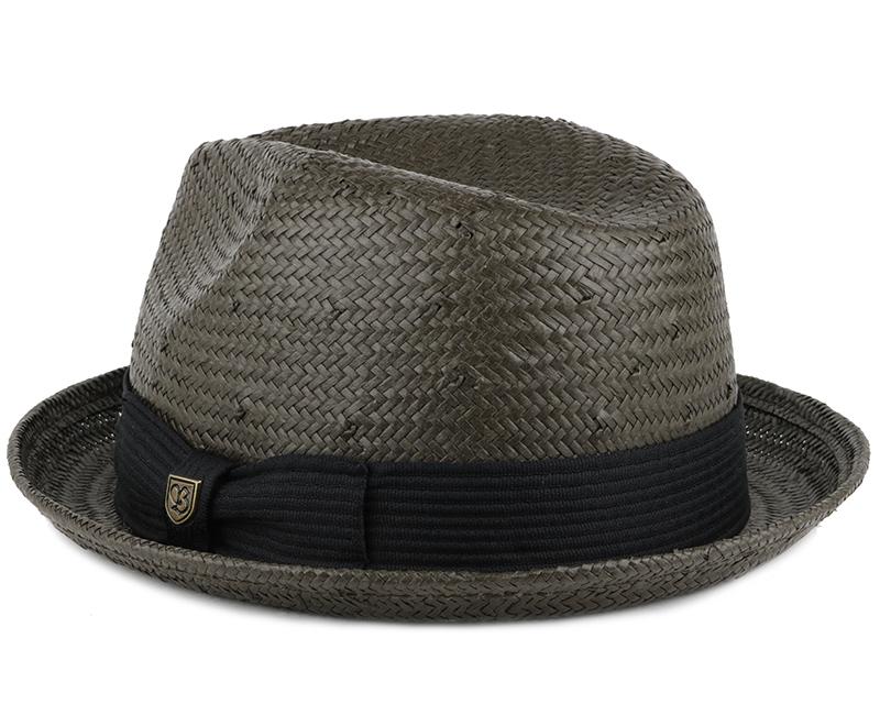 Castor Washed Black Fedora Brixton Hats Hatstoreworld Com
