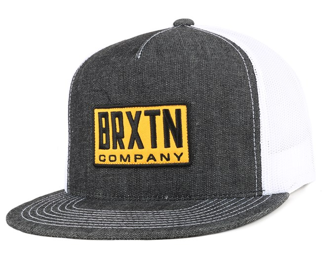 31eae7e14 Harrington HP Mesh Black Denim Snapback - Brixton caps | Hatstore.ie