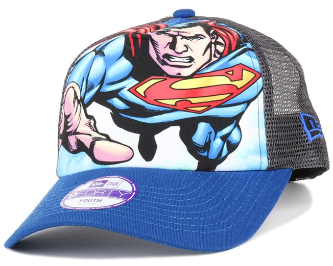 Kids Superman 940 Trucker - New Era caps  fec2a9a7c94b