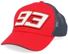 Marc Marquez Cap Red/Dark Grey Trucker - Moto GP